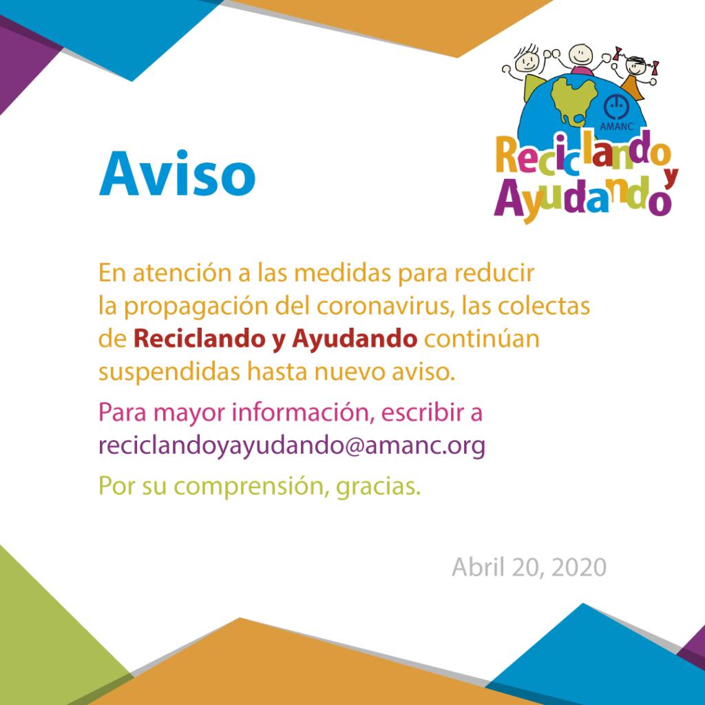 Aviso_20_2020-Reciclando_y_ayudando