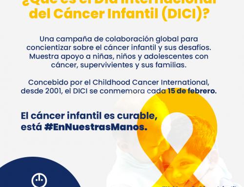 15 de febrero: Día Internacional del Cáncer Infantil (DINCI)